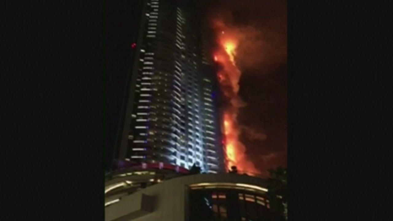 VIDEO: Požar na hotelu-neboderu u Dubaiu