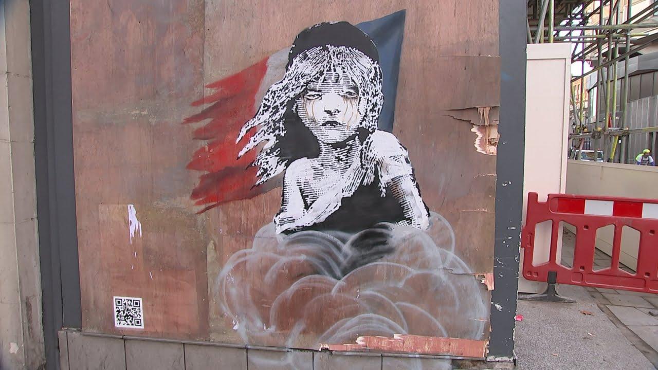 URBANA UMJETNOST Rad umijetnika Banksya brzo sakriven