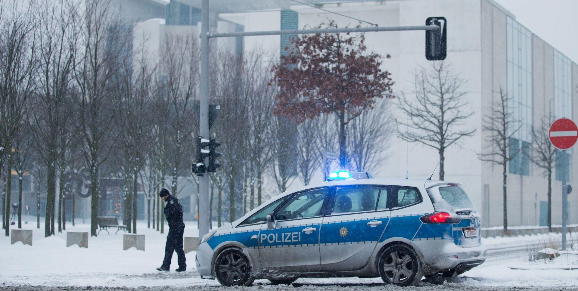 Njemačka policija: Paket je bio bezopasan