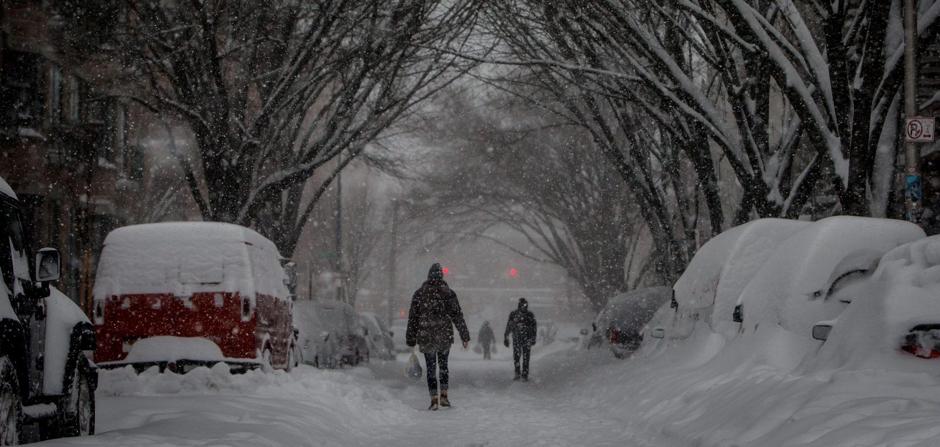 SNJEŽNO NEVRIJEME: Paralizirani New York i Washington