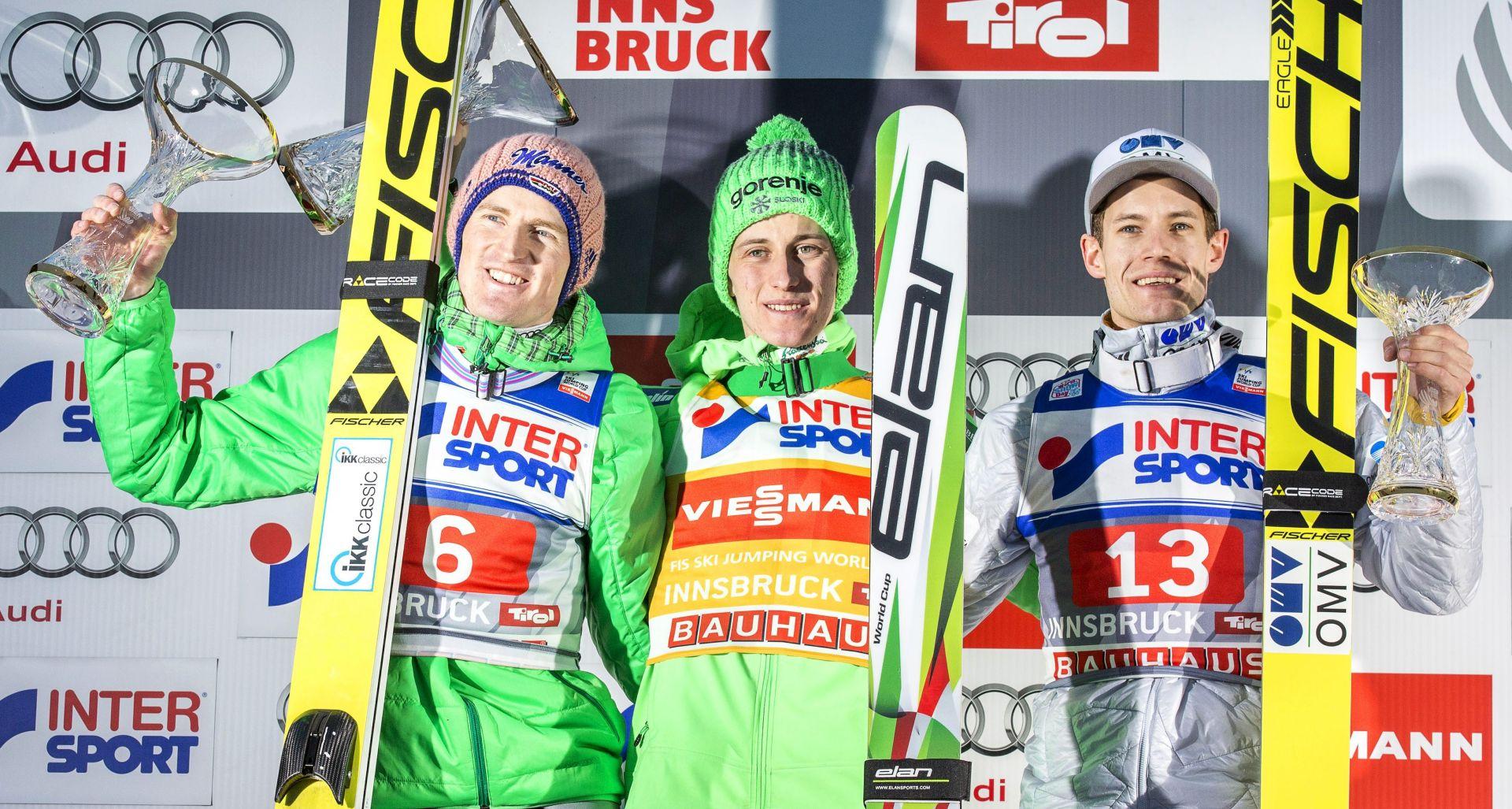 NA PRAGU POBJEDE: Prevc trijumfirao u Innsbrucku