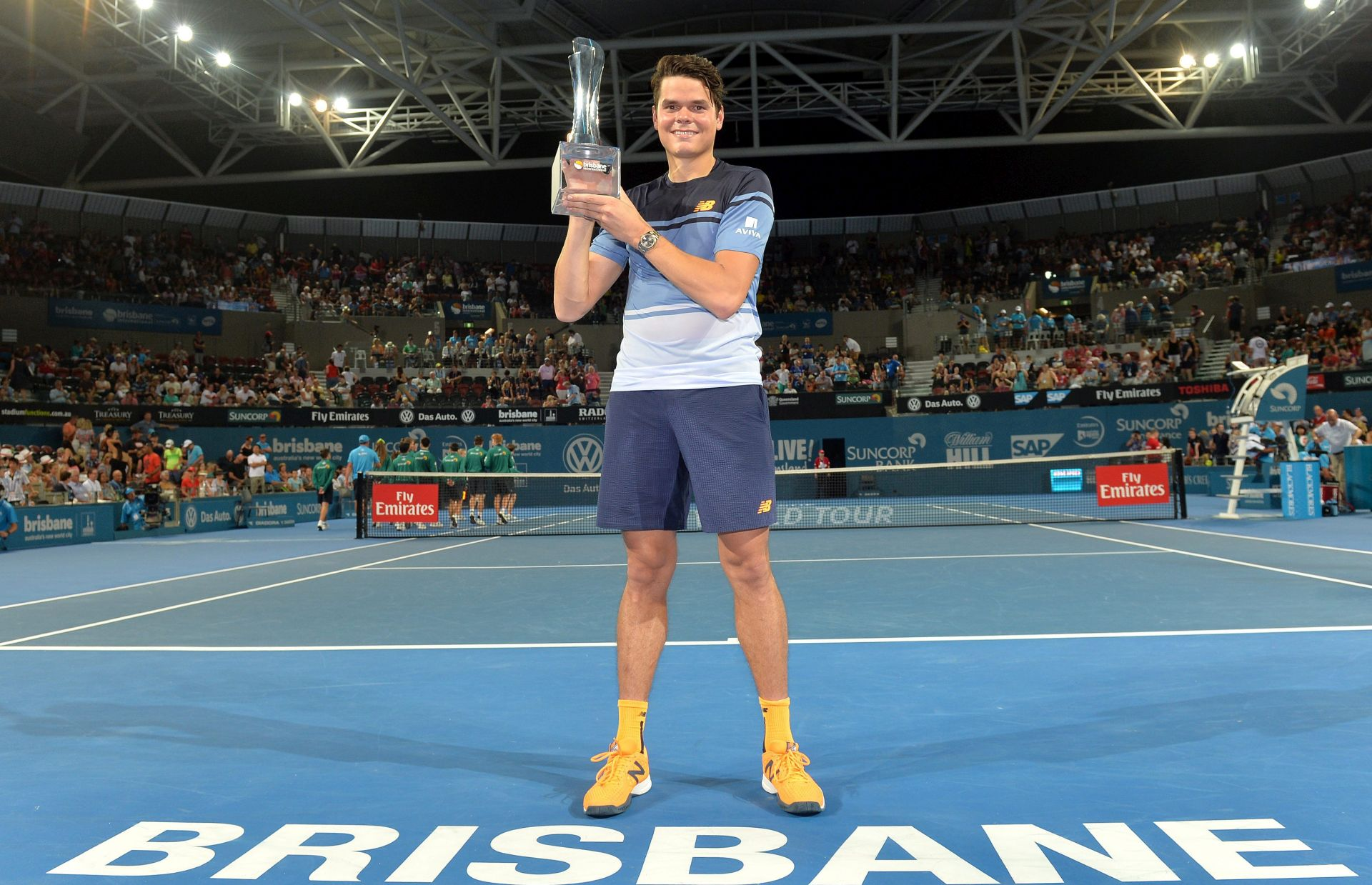 ATP Brisbane: Raonić pobijedio Federera