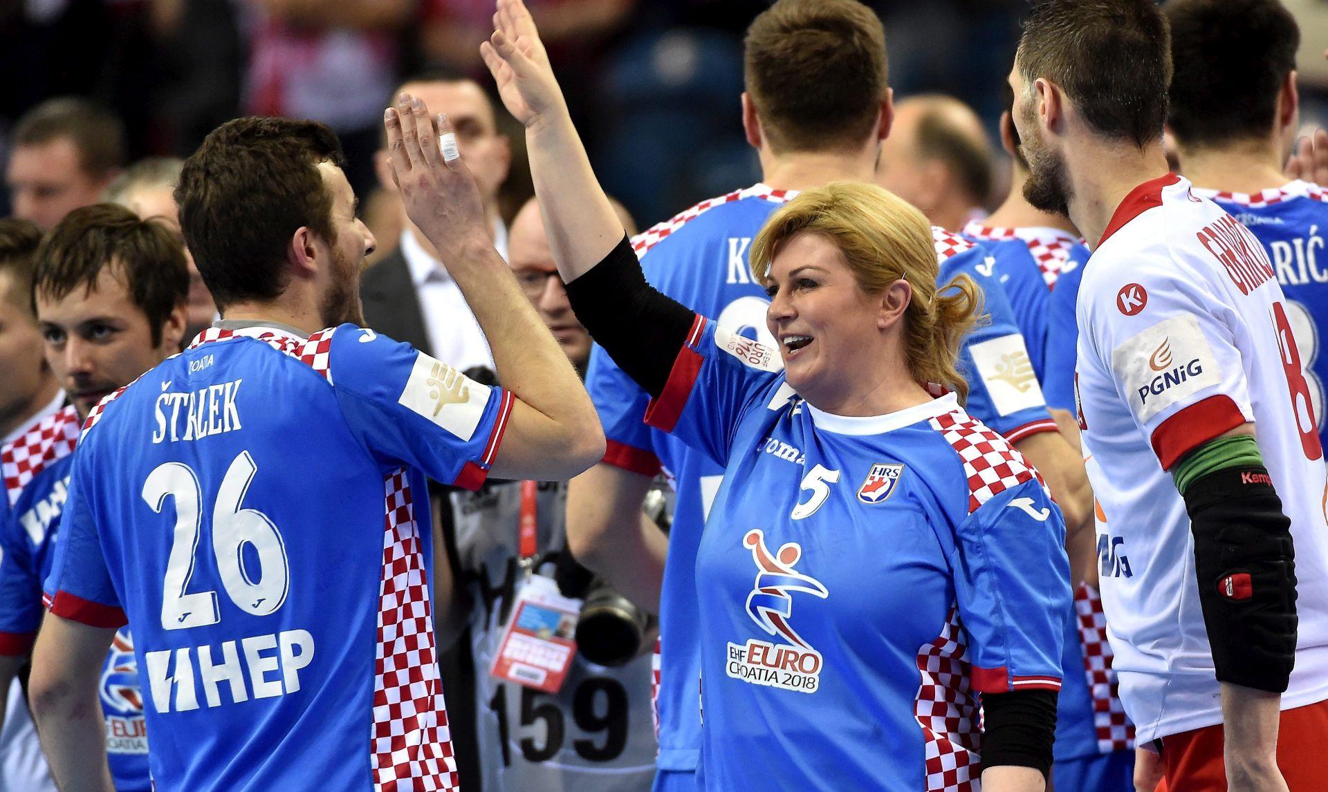 EP RUKOMET: Mediji pobjedu Hrvatske nad Poljskom opisuju kao čudo