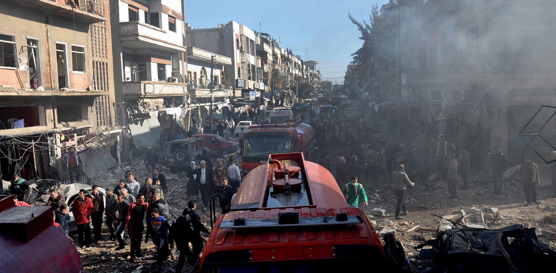EKSPLOZIJA KAMIONA-BOMBE: Poginule 23 osobe, uglavnom borci Ahrar al Šama