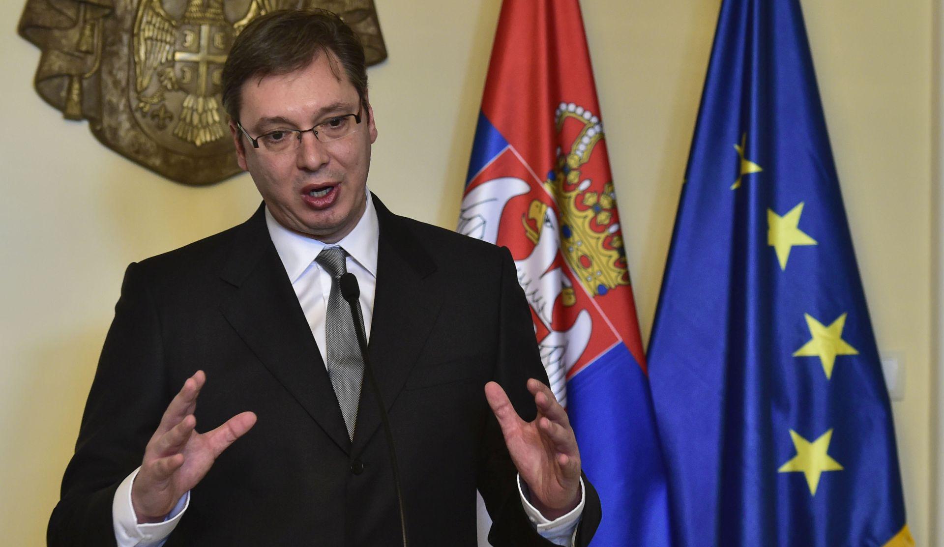 Vučić: Izvanredni parlamentarni izbori mogući tijekom godine