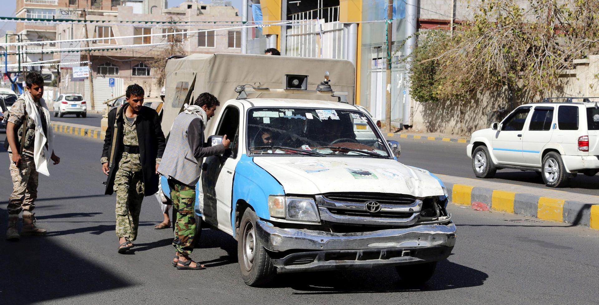 Human Rights Watch: Huti zatočili više desetaka osoba u Sani