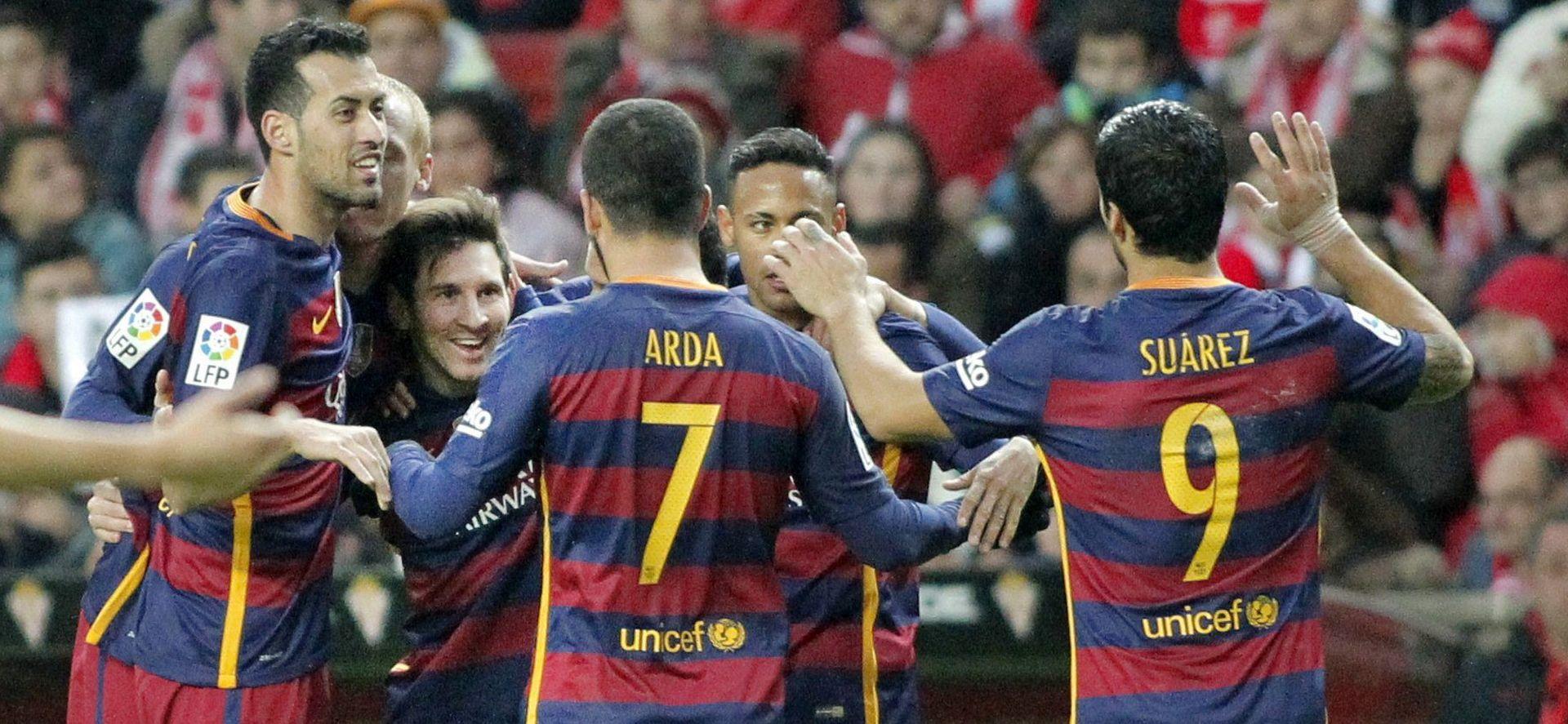 MESSI JUNAK DVOBOJA: Sporting – Barcelona 1-3