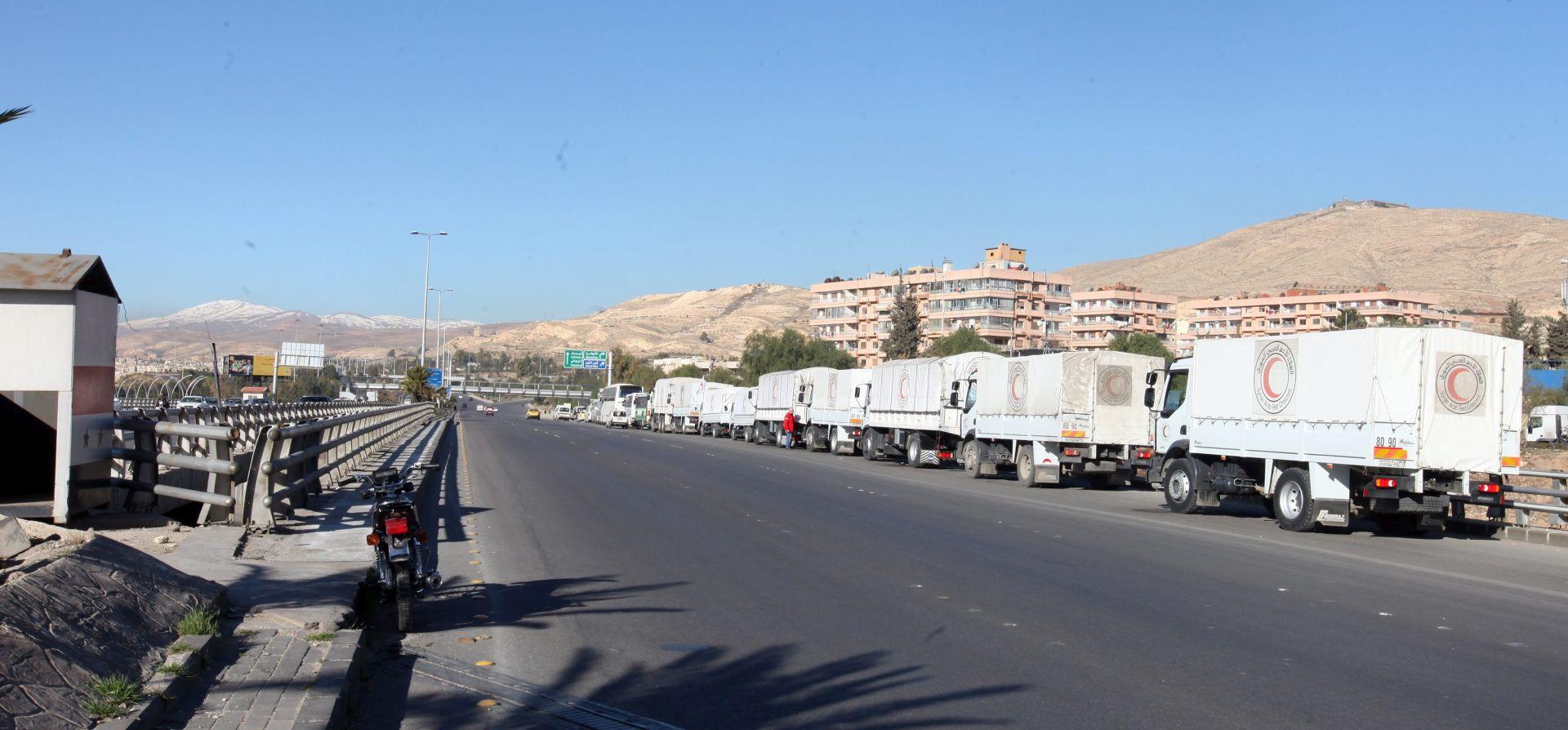 NAKON PRIMIRJA: Bombardirani kamioni s humanitarnom pomoći u blizini Alepa