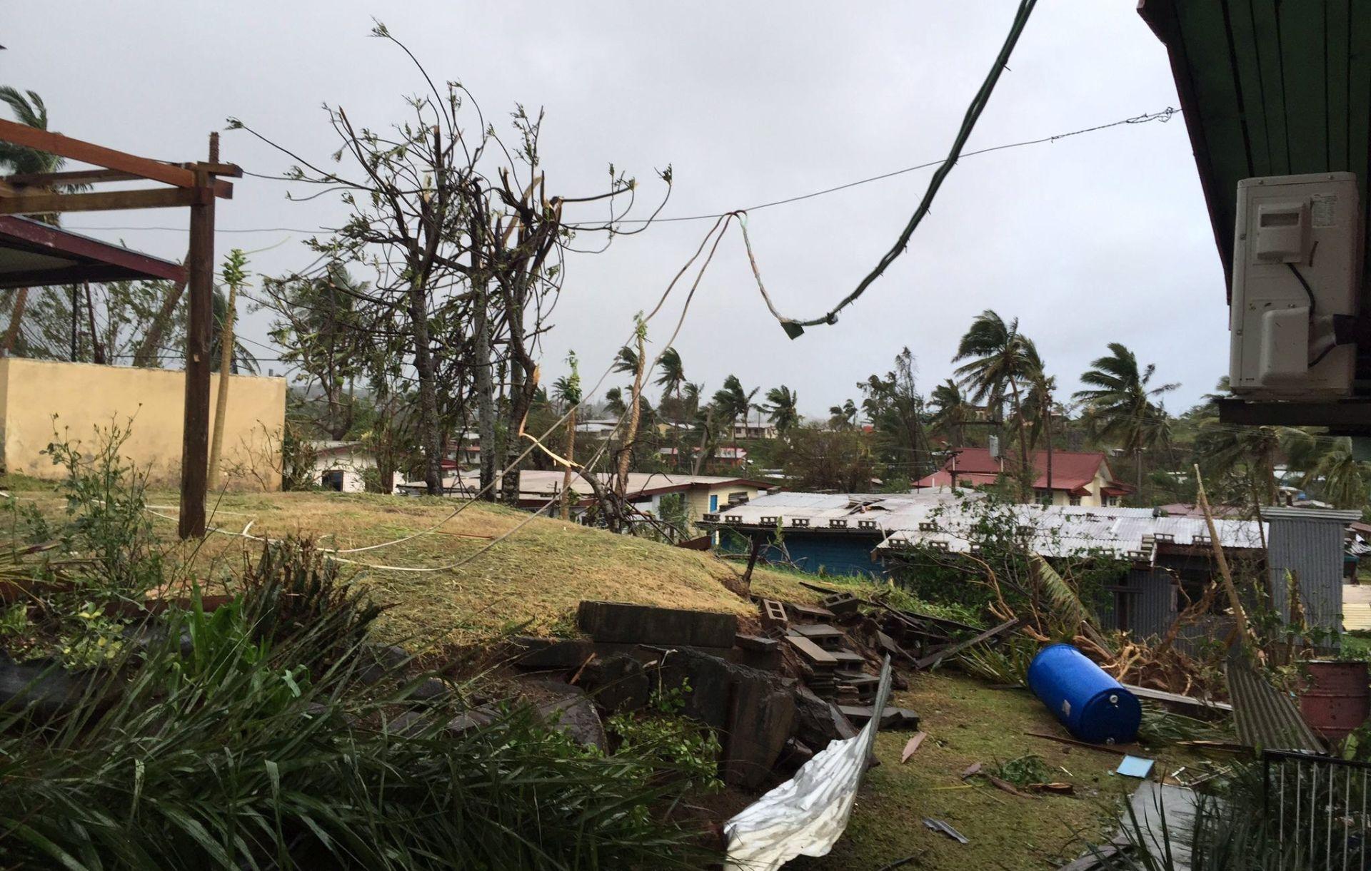 OTOČJE FIJI: Pet mrtvih u najsnažnijem uraganu u povijesti