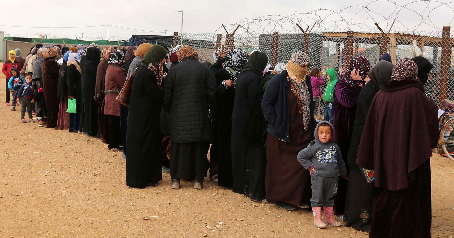 JORDANSKI KRALJ Naša zemlja je pred 'točkom pucanja' zbog stotina tisuća izbjeglica