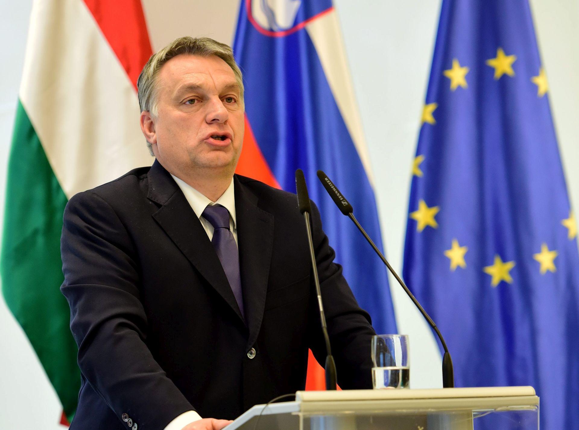 "Orban kaže da je migrantska politika EU-a ""autodestruktivna"""