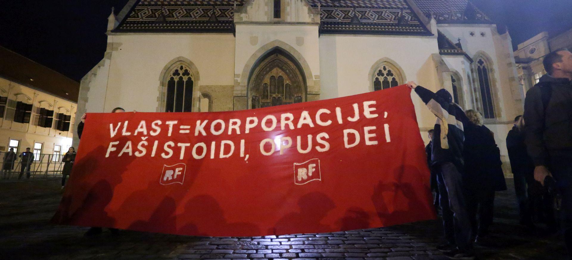 STRUČNJACI Kroničnu podjelu hrvatskog društva na 'crne' i 'crvene' održavaju političari