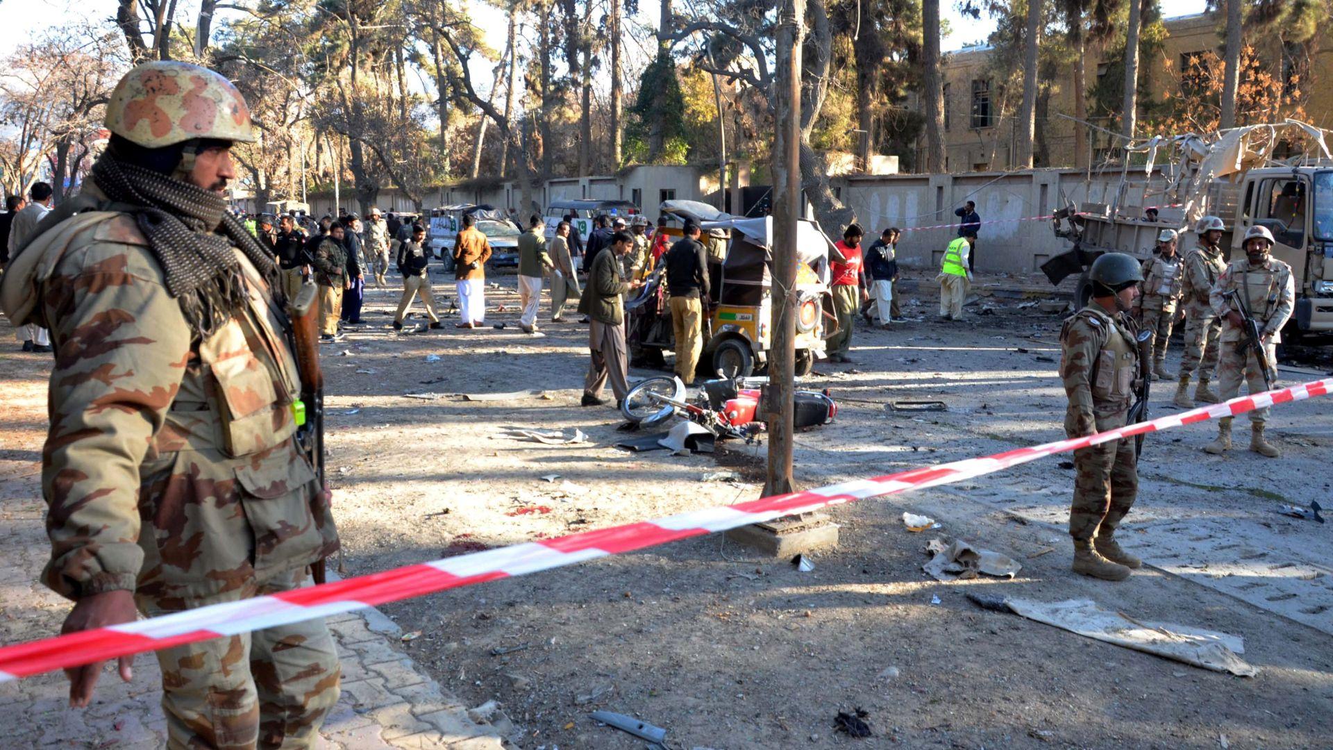 U bombaškom napadu u Pakistanu najmanje 10 mrtvih