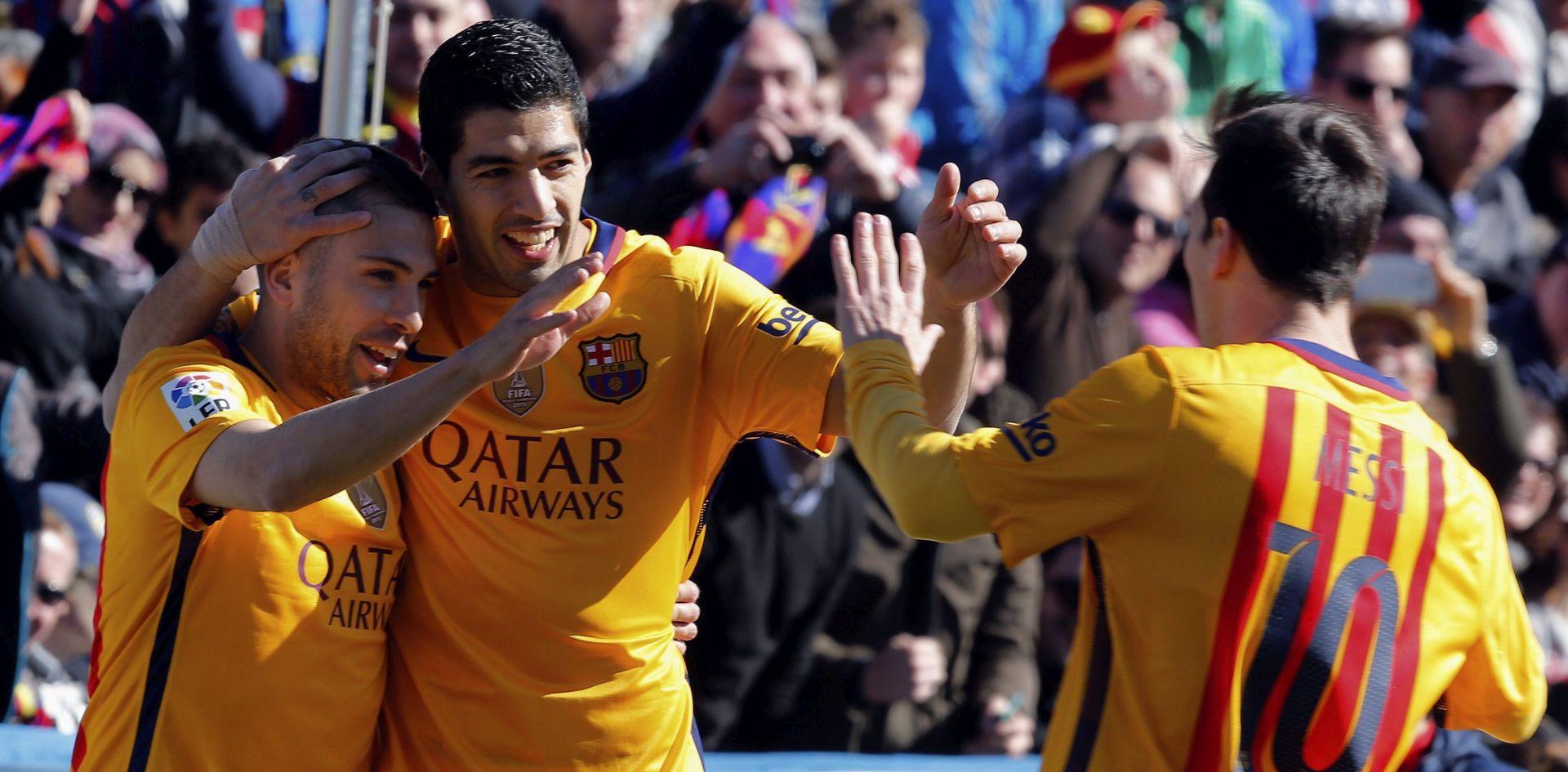 PRIMERA Barcelona slavila s 2:0 protiv Levantea, Messiju poništena dva gola