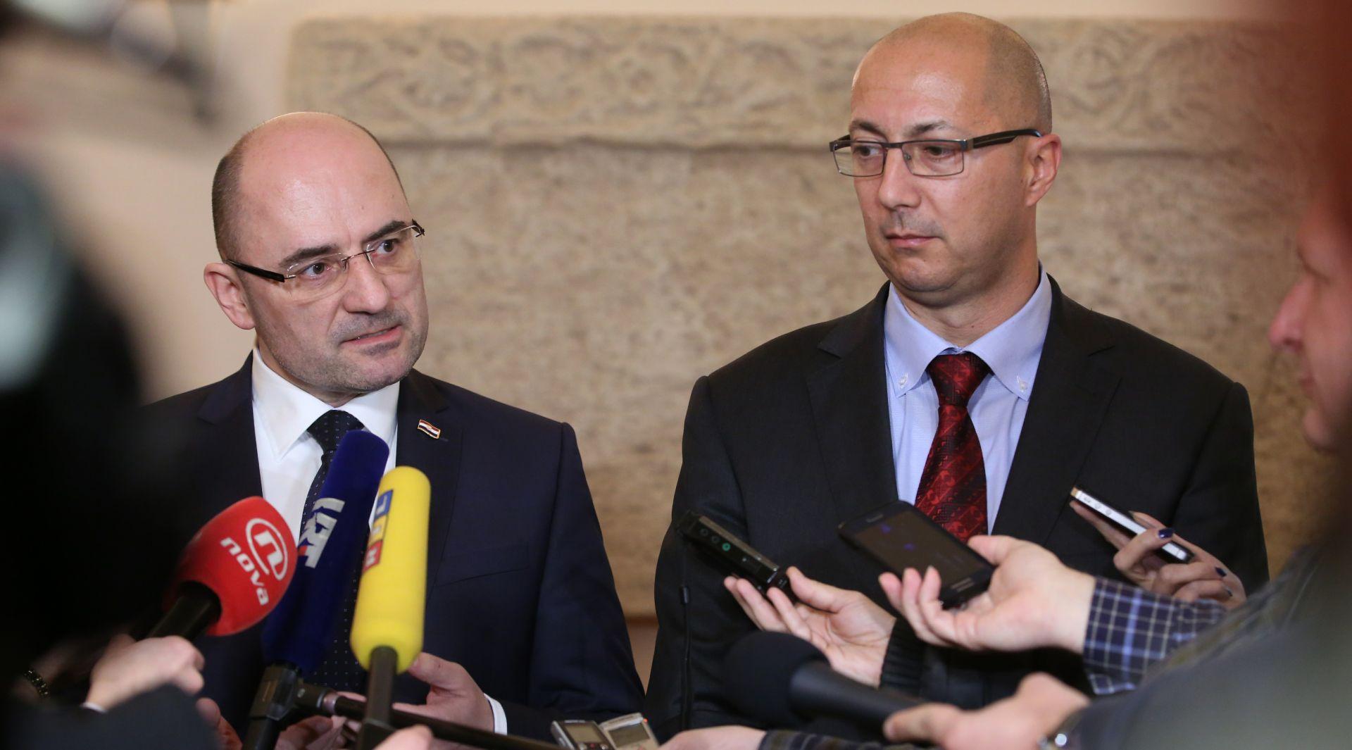 Vijeće za suradnju Domoljubne koalicije i Mosta dogovorilo kvote za zamjenike i pomoćnike ministara