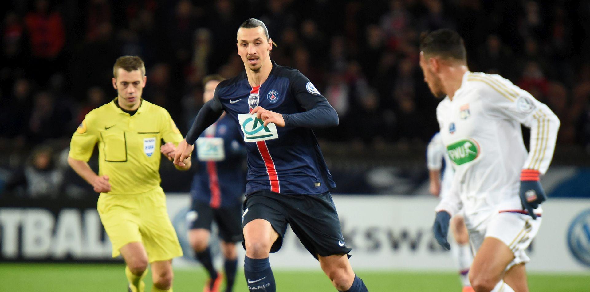 FRANCUSKI KUP: PSG uvjerljiv protiv Lyona, dva pogotka Ibrahimovića