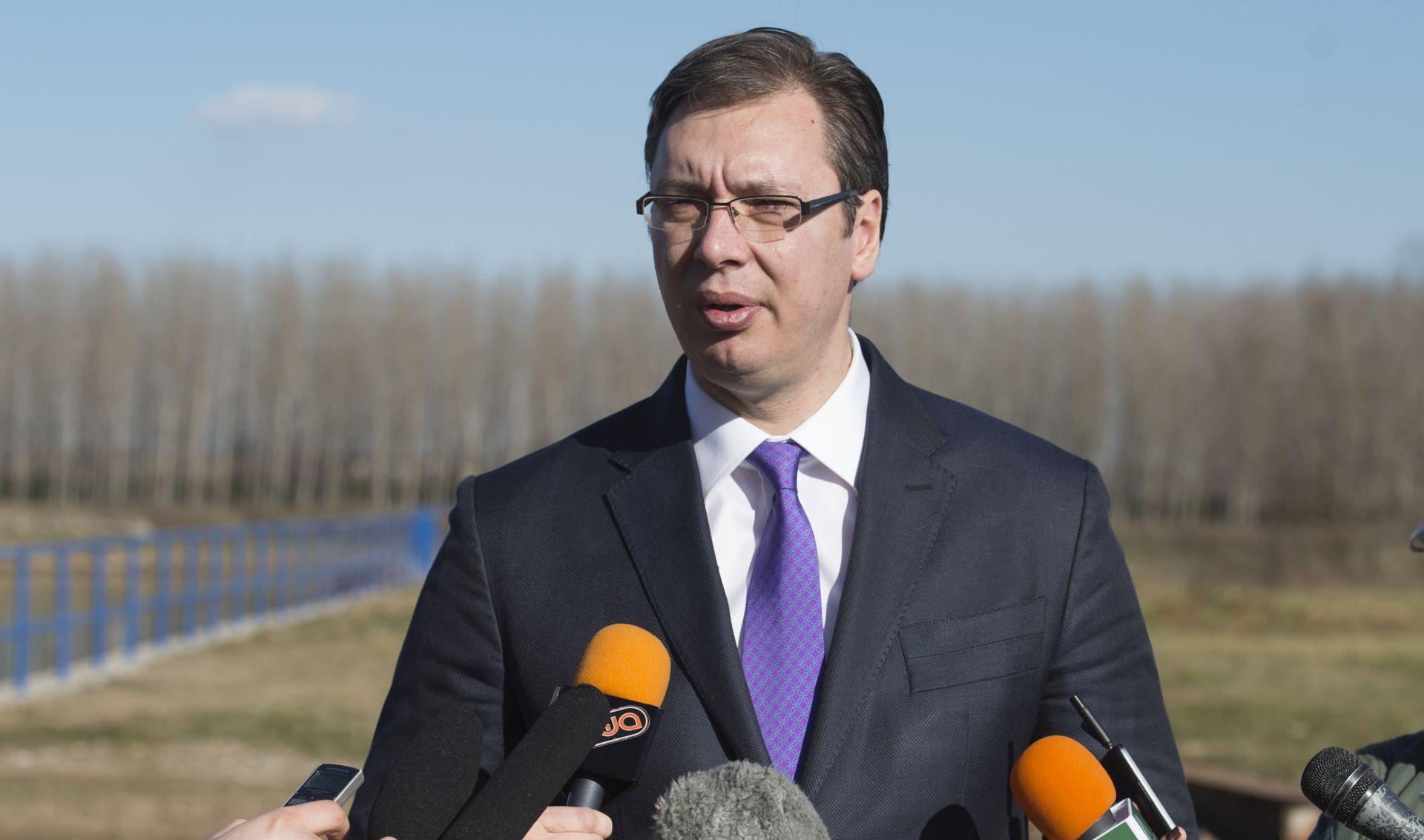 ALEKSANDAR VUČIĆ: NATO je izbor Crne Gore, a Srbija se neće u to miješati