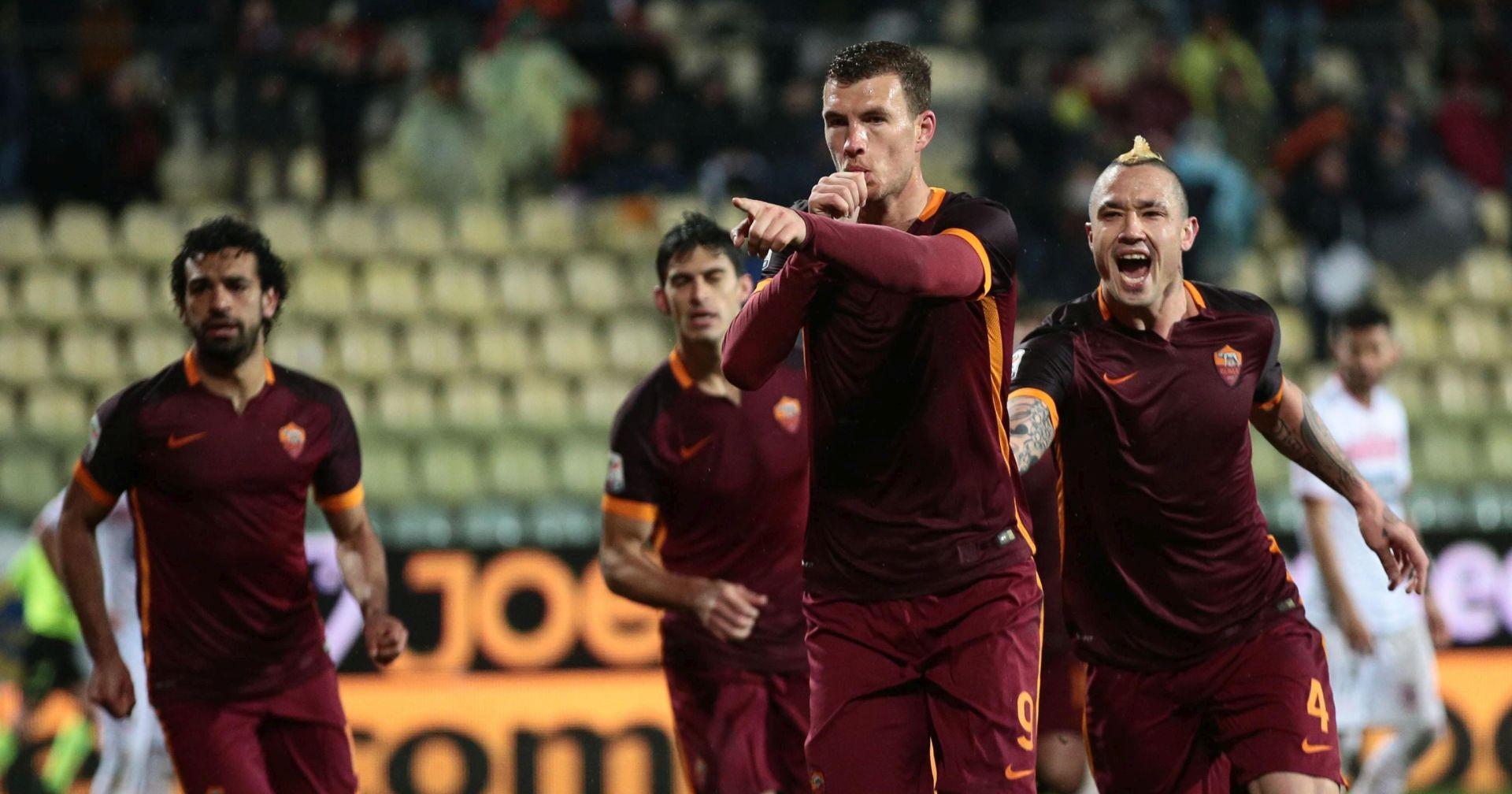 VIDEO: Roma Palermu utrpala pet komada, Džeko zabio dva gola i promašio nemoguće