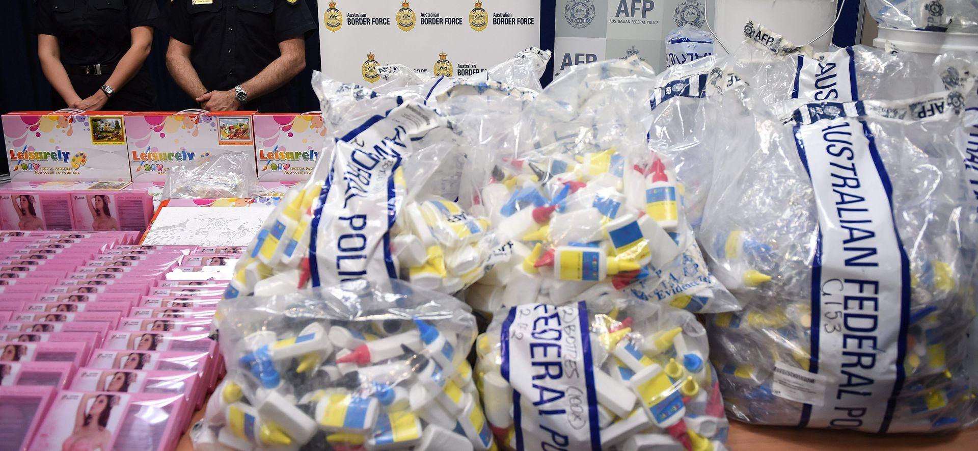 AUSTRALIJA Zaplijenjen tekući amfetamin vrijedan 700 milijuna dolara