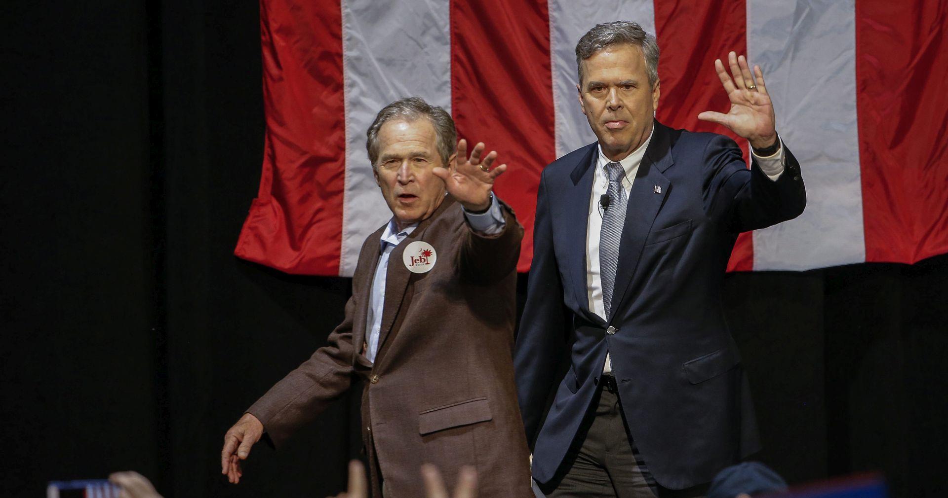 George W. Bush priključio se kampanji mlađeg brata Jeba