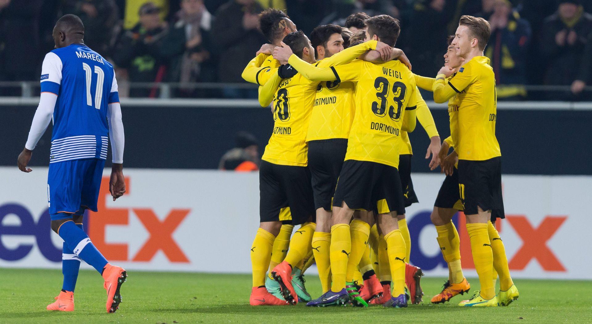 EUROPA LIGA Slavlje Borussije Dortmund i Seville, porazi Manchester Uniteda i Napolija