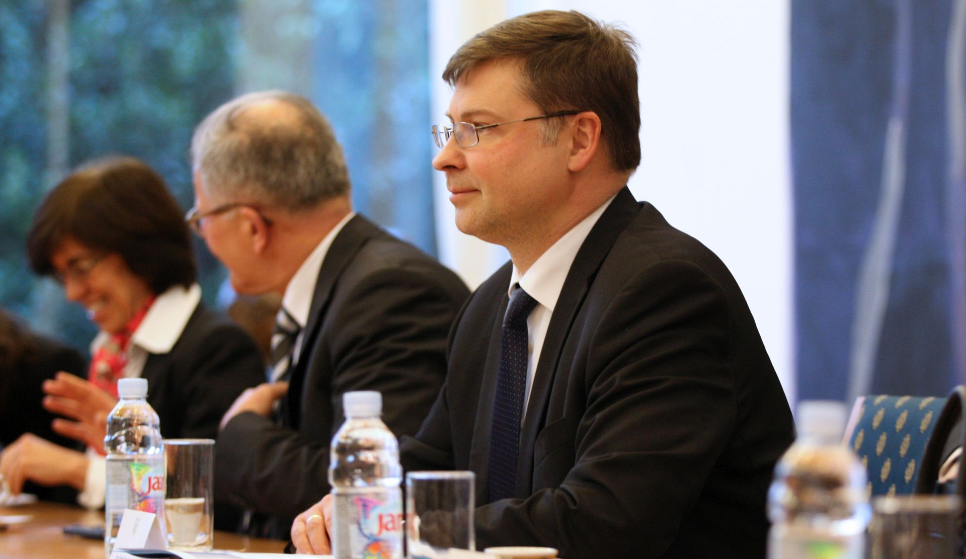 "Dombrovskis kaže da Hrvatska treba ""ambiciozne"" reforme"