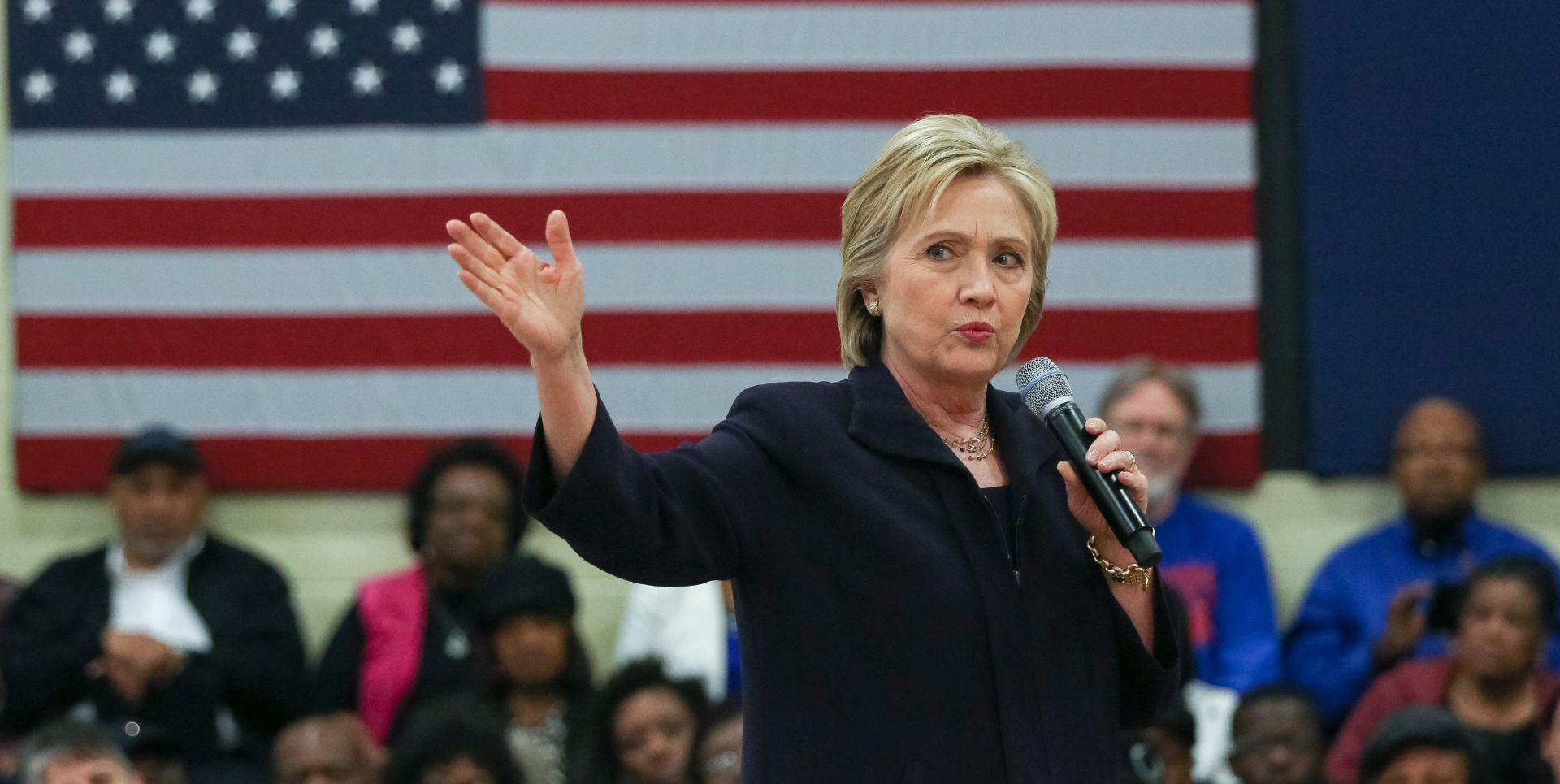 UNUTARSTRANAČKI IZBORI DEMOKRATA Clinton osvojila Južnu Karolinu