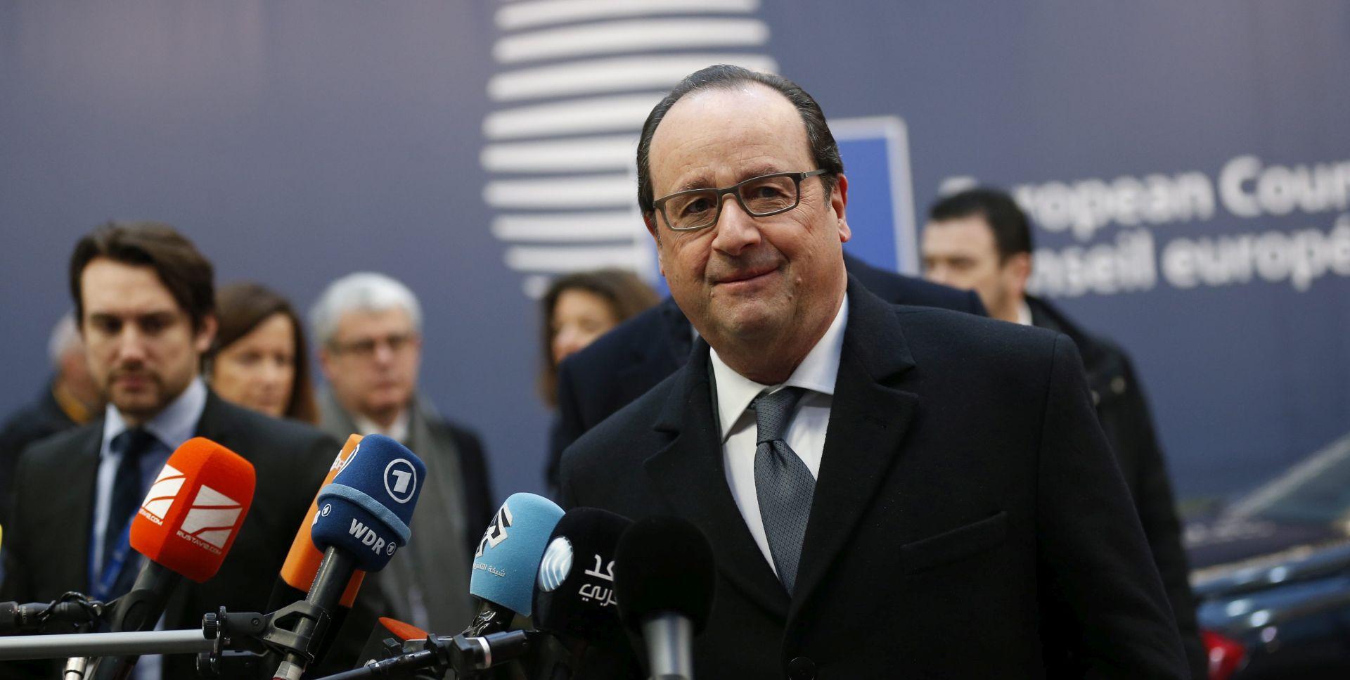 """ZBOG """"UPLETANJA"""" U SIRIJI: Hollande vidi opasnost od rata između Turske i Rusije"""