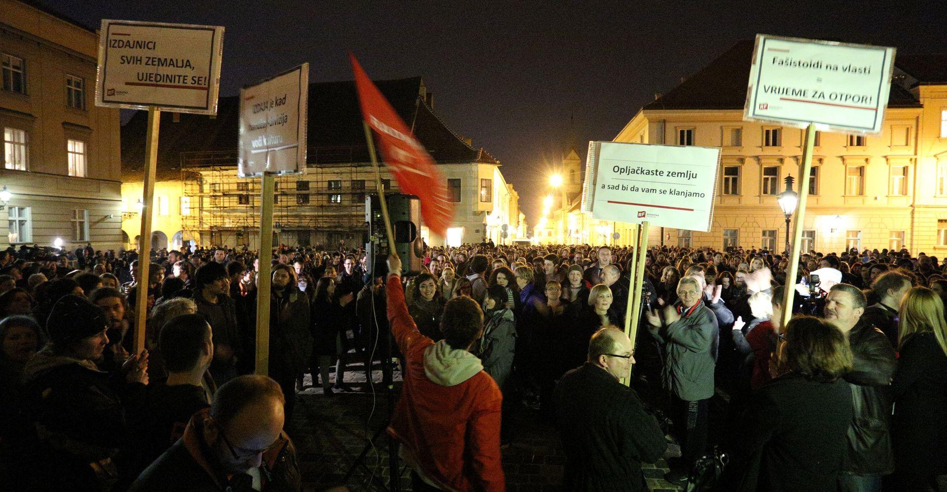 """Ministri o prosvjedu """"Radničke fronte"""": """"Mogli su prosvjedovati i posljednje četiri godine da su htjeli"""""""