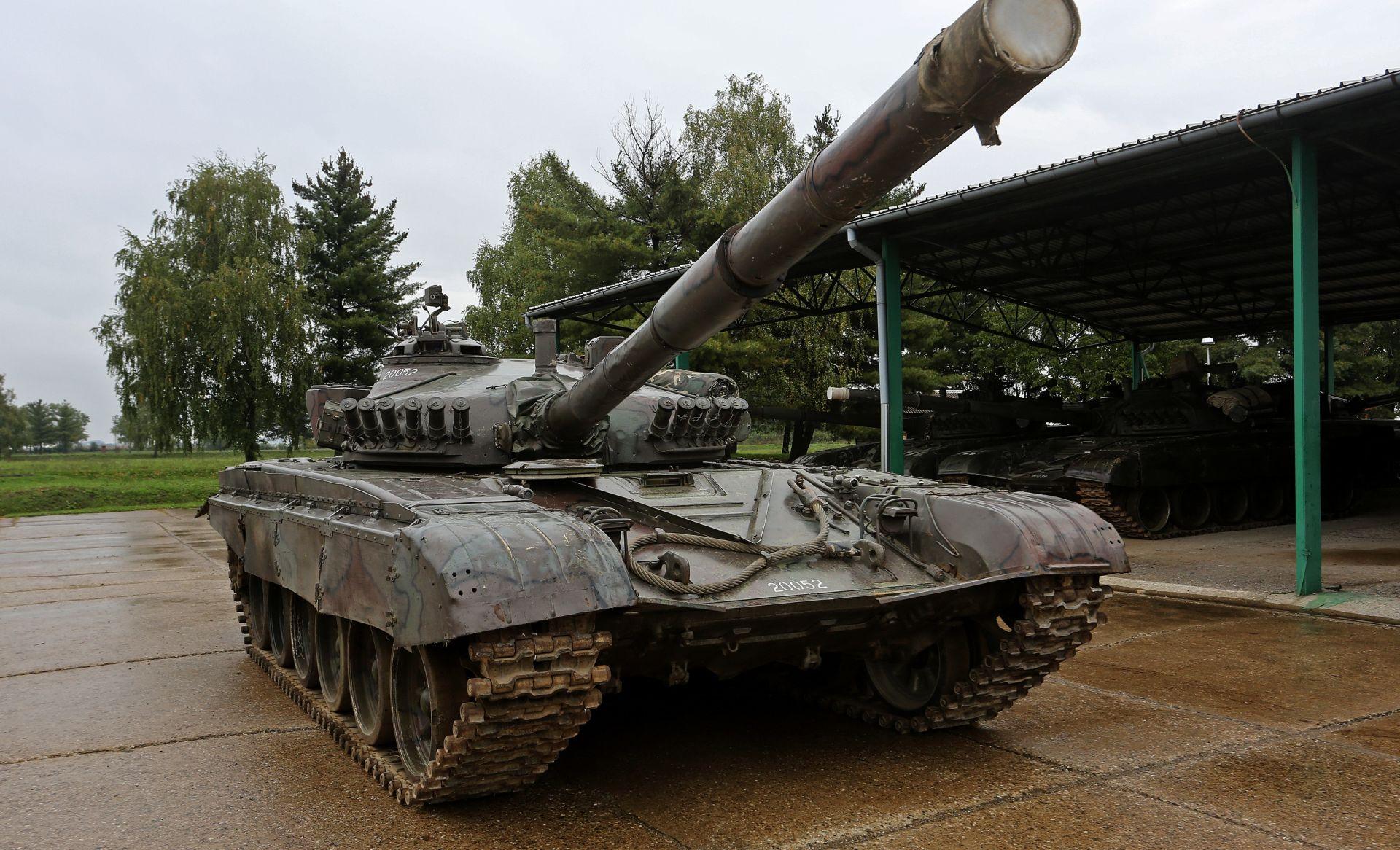 Slovenija prodaje jugoslavenske tenkove M-55 modernizirane u Izraelu