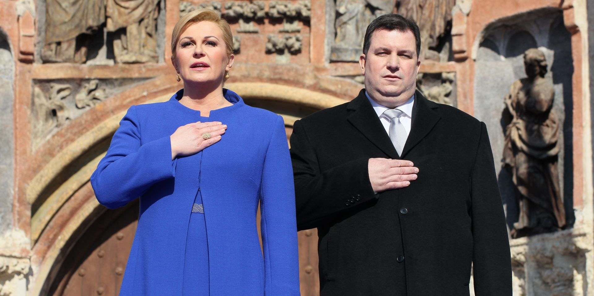 PREDSJEDNICA DRŽAVE SA SVEČANOG KONCERTA PORUČILA 'Vjerujem u te zemljo moja Hrvatska!'