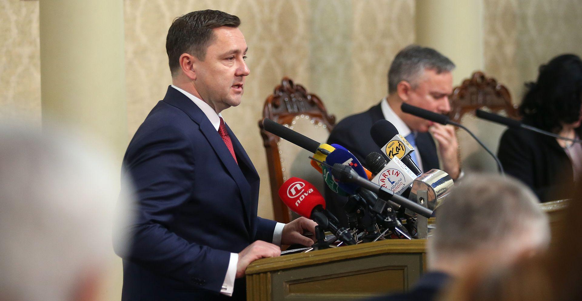 Mikulić: Potpuno je legitimno da HDZ ima svog čovjeka na čelu Gradske skupštine