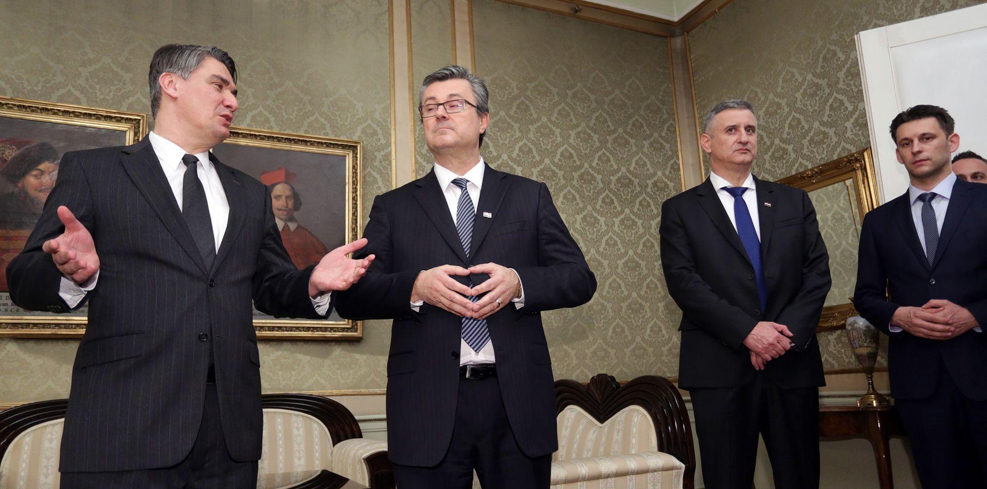 NOVI PODACI CROBAROMETRA Pada podrška MOST-u, nakon tri mjeseca pala podrška i predsjednici
