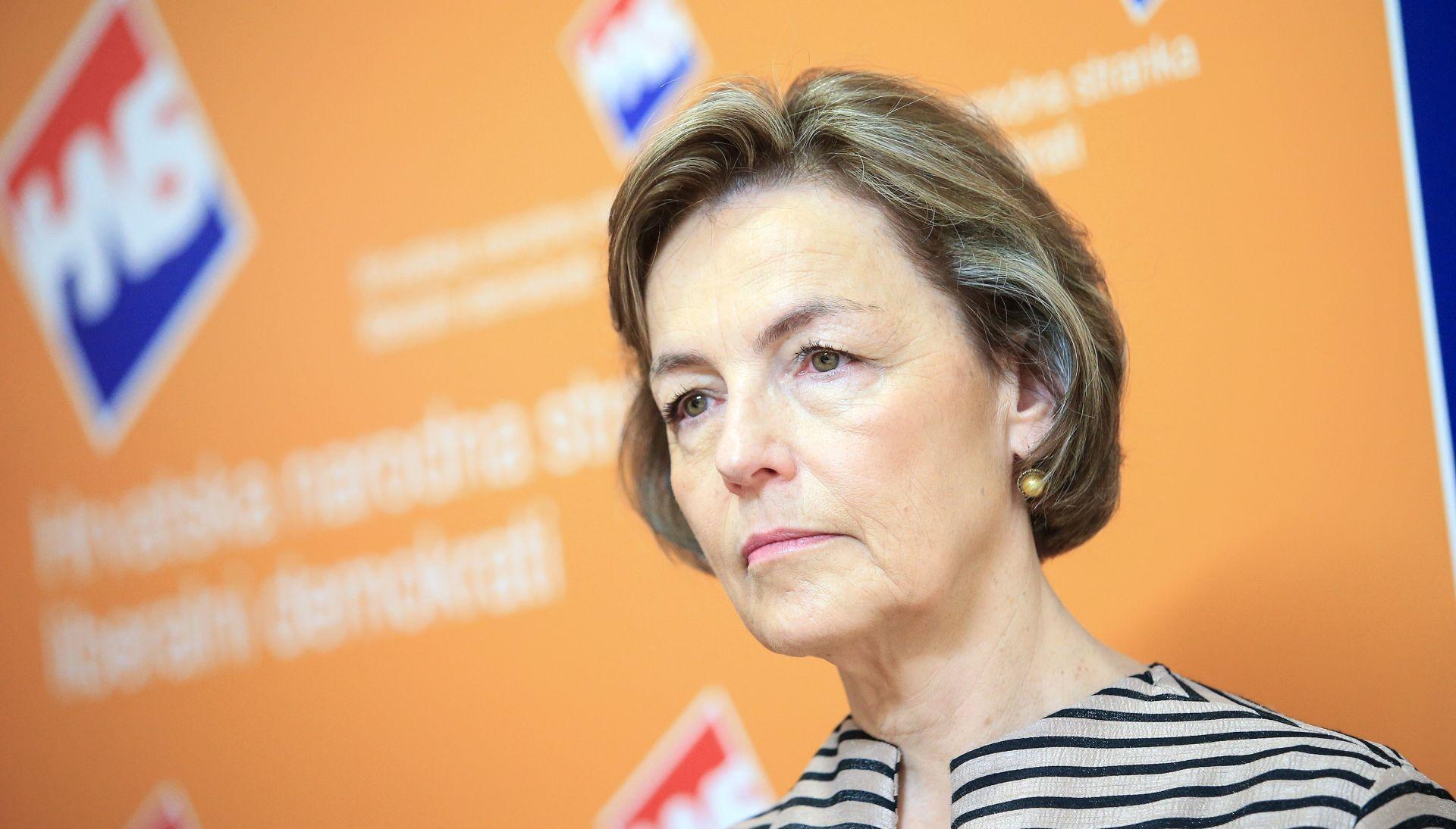 Vesna Pusić o proračunu: Temelji su dobri, nemojte ništa kvariti