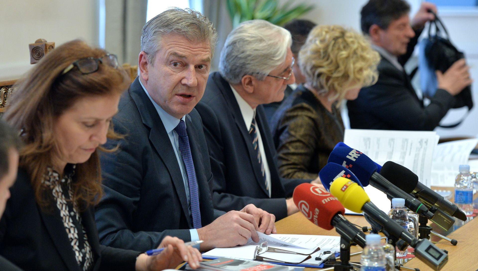 Lozančićevo izvješće bez dovoljne potpore na saborskom odboru