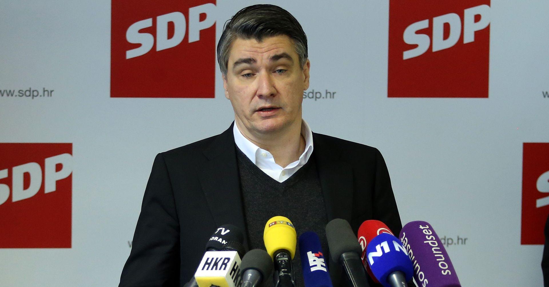 Milanović: SDP-u nudim svoju energiju, znanje, iskrenost i borbenost