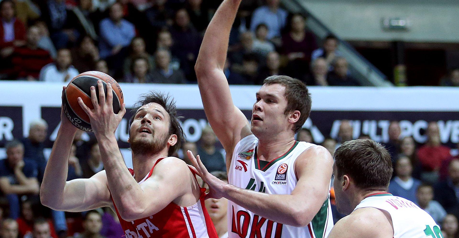 EUROLIGA Težak poraz Cedevite u Krasnodaru