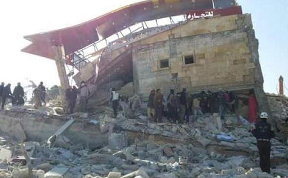 ZRAČNI NAPAD U SIRIJSKOJ PROVNICIJI IDLIB Uništena improvizirana bolnica, najmanje devetoro nestalih