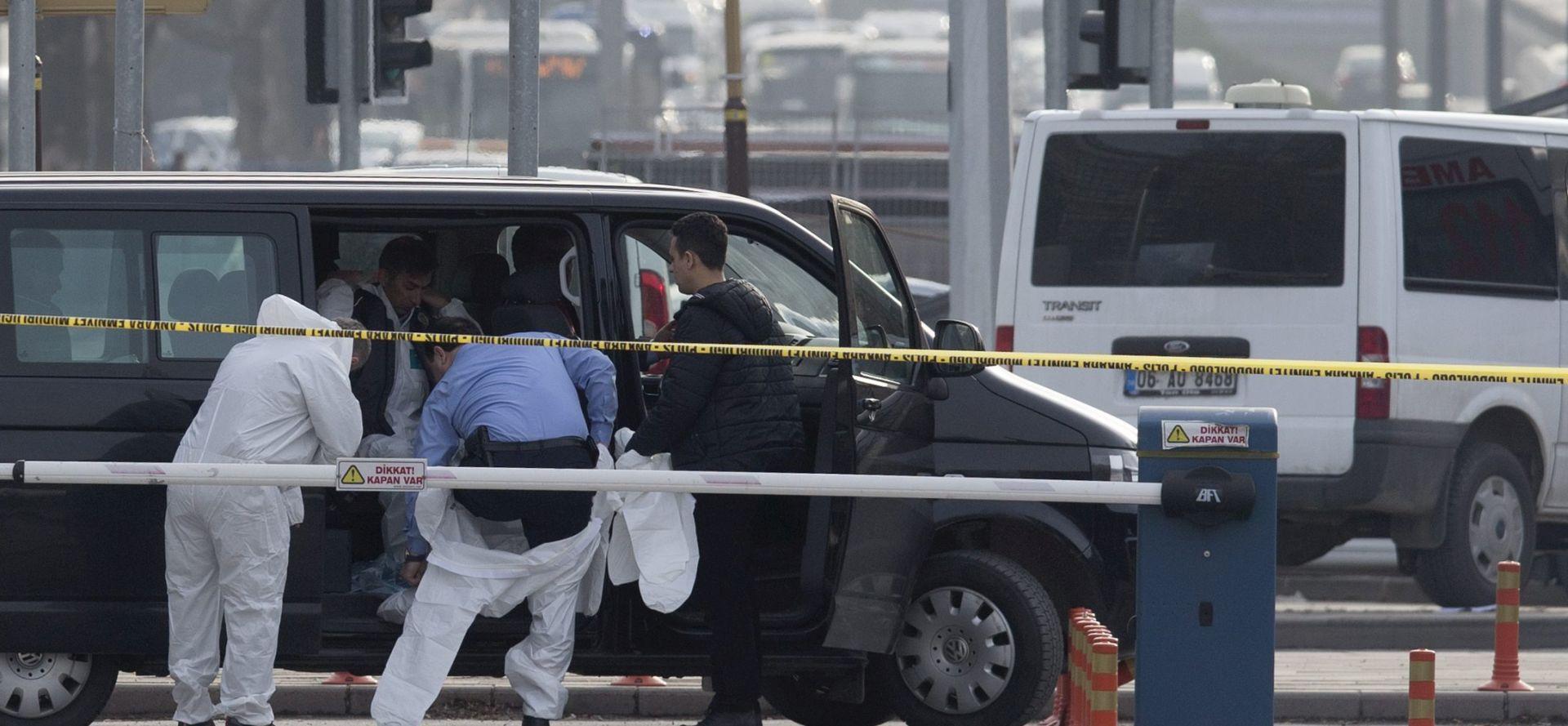 Sirijskog Kurda policija identificirala kao počinitelja atentata u Ankari