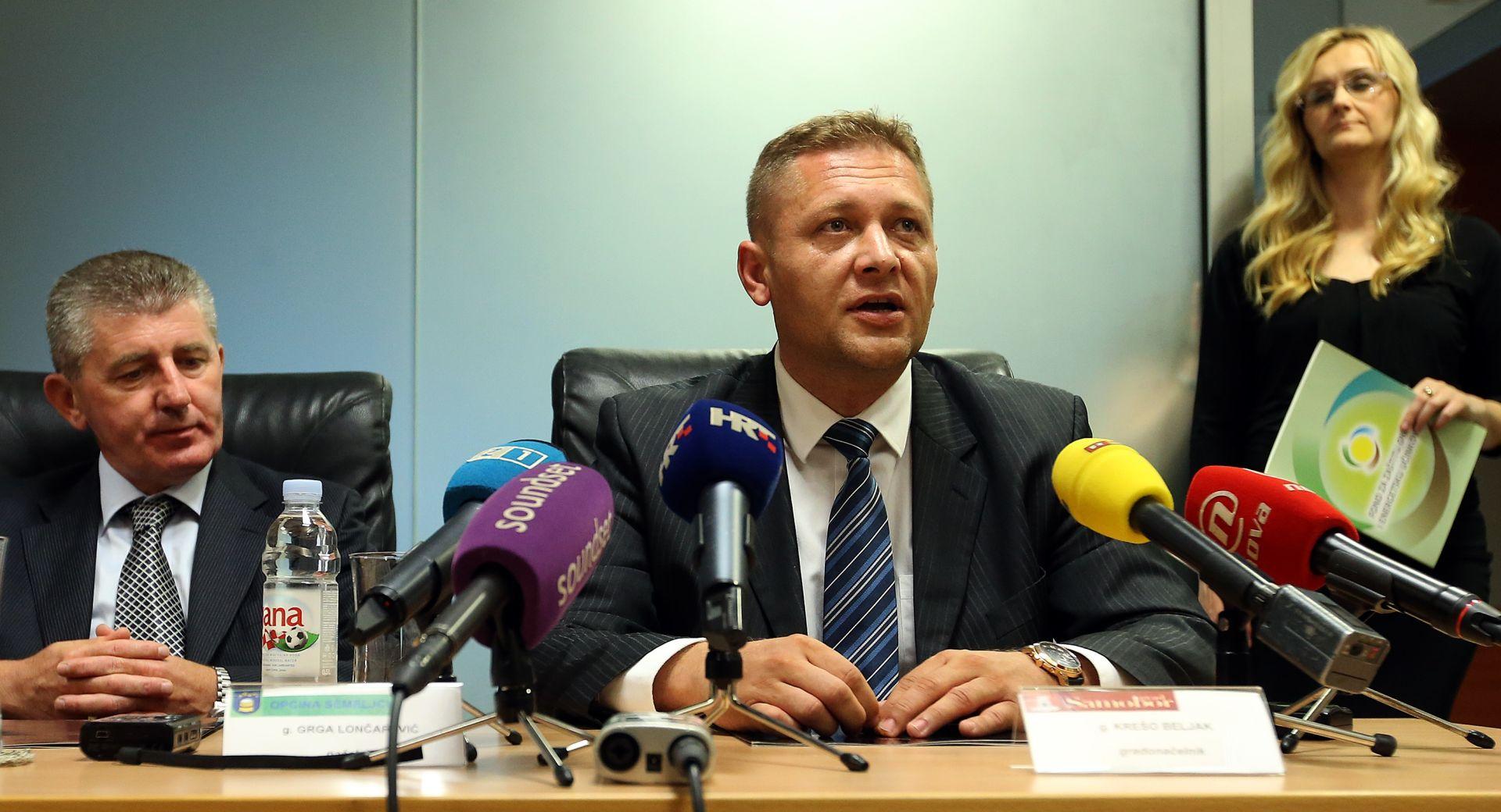 KREŠO BELJAK: 'Nema raspuštanja, imenovani su povjerenici'