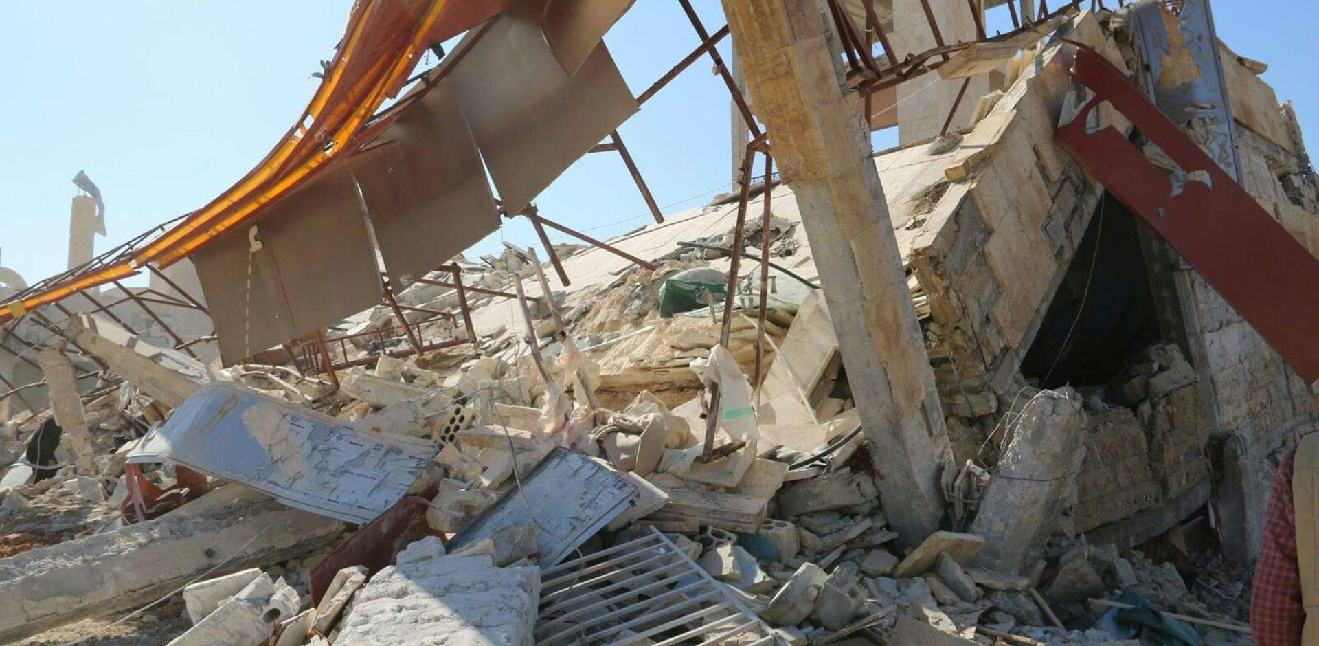 VIDEO: Eksplozija u sirijskom skladištu oružja odnijela 39 života
