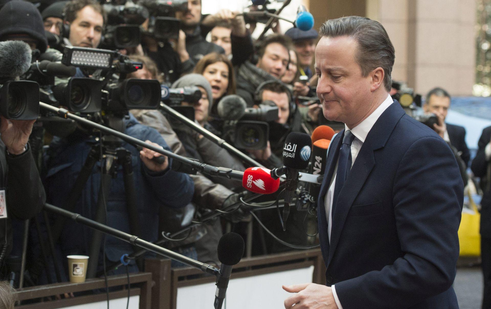 BRITANSKO ČLANSTVO U EU: Cameron danas objavljuje datum referenduma