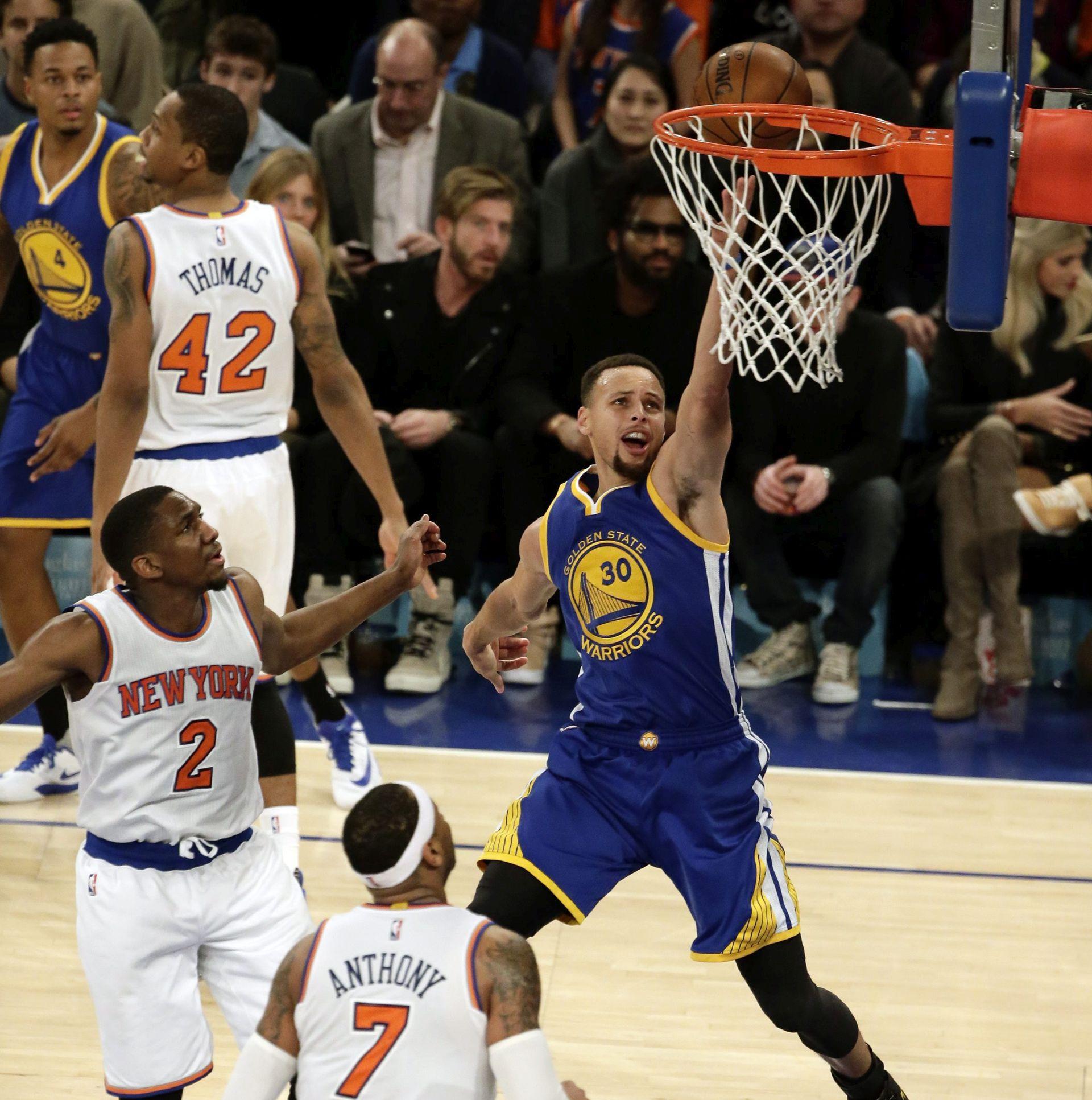 NBA: Curryjeva 42 koša za pobjedu Golden Statea