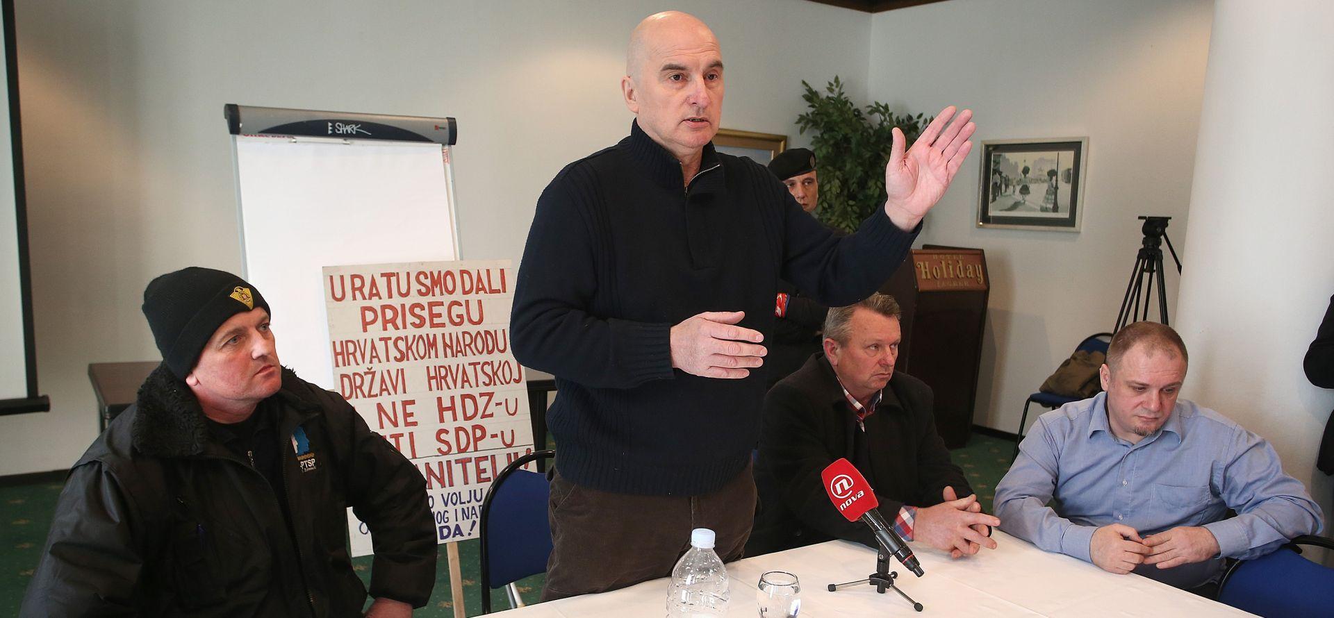ERCEG: 'Sramotnim maršom u centru Zagreba cilj je održavanje napetosti'