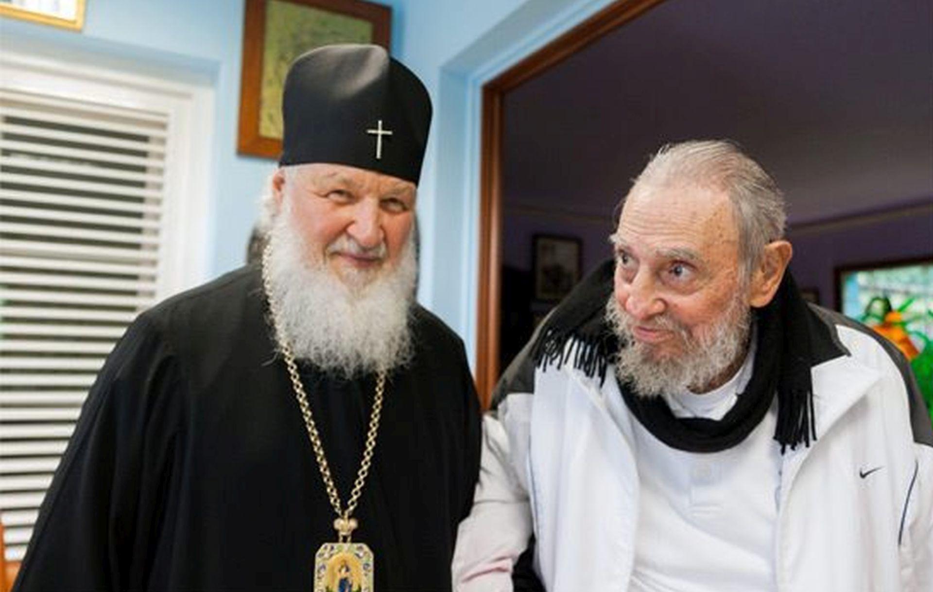 """FIDEL CASTRO: Susret Pape i Kirila """"potiče nadu u narodima"""""""