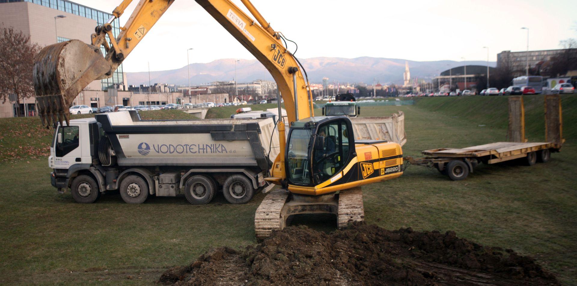 Bandić otvorio radove na izgradnji još tri fontane