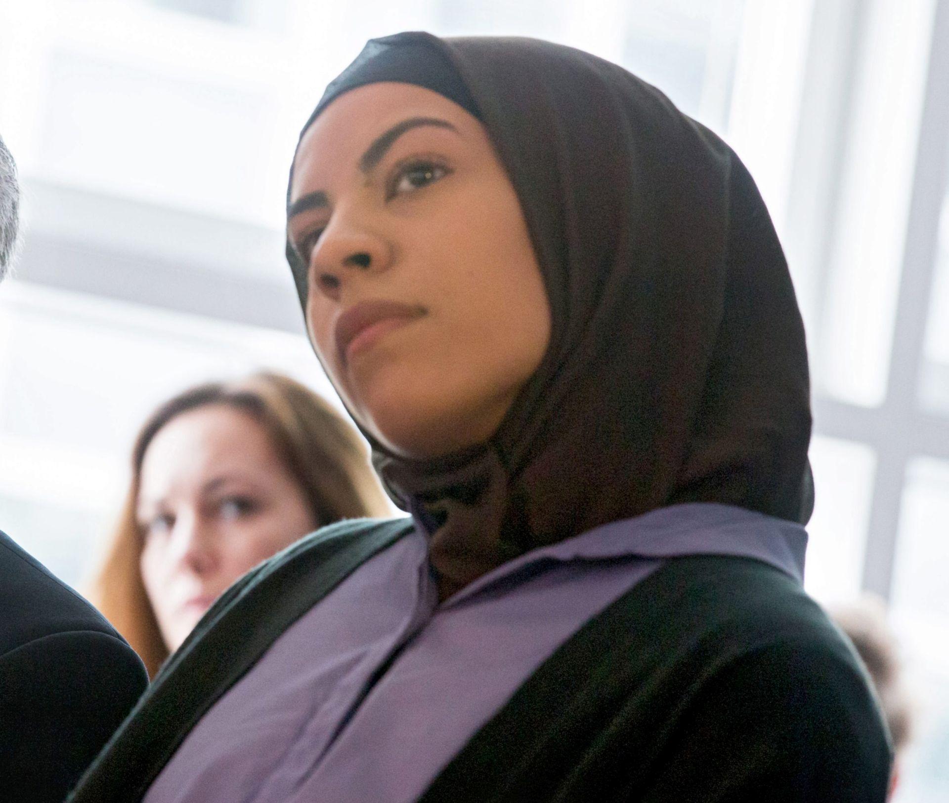 NEZADOVOLJNI ODLUKOM: Prosvjed zbog zabrane nošenja hidžaba