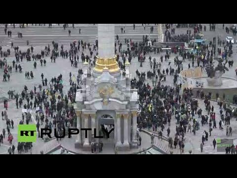 UŽIVO: Obilježavanje druge godišnjice Prosvjeda Maidan