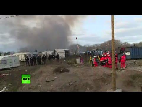 UŽIVO: Danas bi trebalo početi čišćenje 'divljeg' emigrantskog kampa u Calaisu