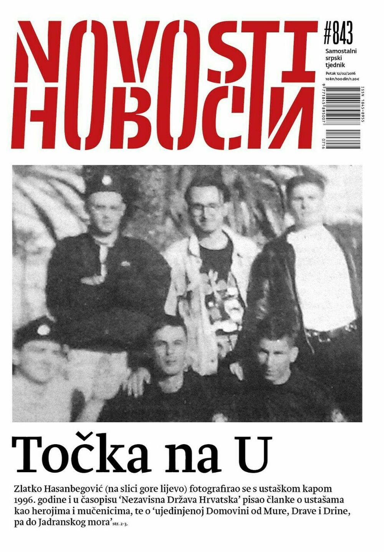 PRIJELOMNA VIJEST: 'Novosti' objavljuju fotografiju Hasanbegovića s ustaškom kapom